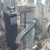 How to Install an Escalator on the 101st Floor of America's Tallest Building | Strange days indeed... | Scoop.it