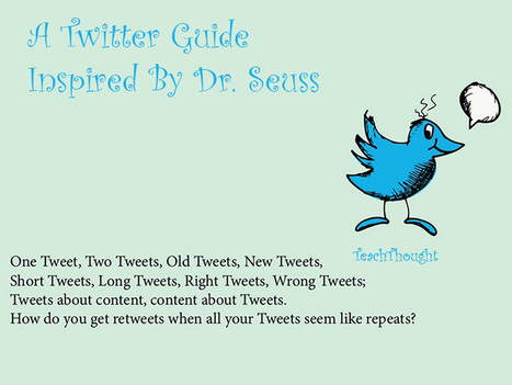 A Twitter Guide Inspired By Dr. Seuss | Technology to Teach | Scoop.it