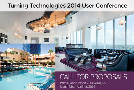 Turning Technologies: Las Vegas: Call for Proposals For User Conference | TurningTechnologies Sweden | Scoop.it