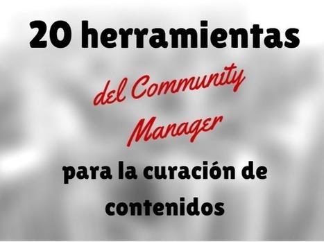 20 herramientas del Community Manager para la curación de contenidos | PDI USO EN INFANTIL, PRIMARIA Y SECUNDARIA. | Scoop.it
