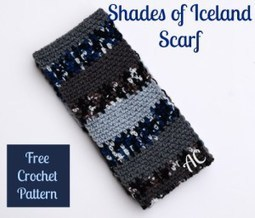 Shades of Iceland Scarf | American Crochet | Crochet | Scoop.it