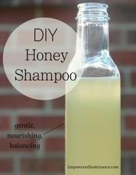DIY Honey Shampoo - Empowered Sustenance | Things that benefit | Scoop.it