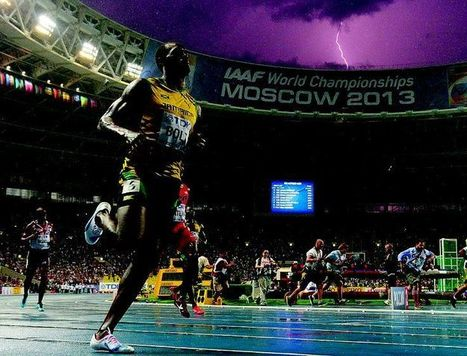 Incredible Usain Bolt lightning bolt photo | Coffee Break | Scoop.it