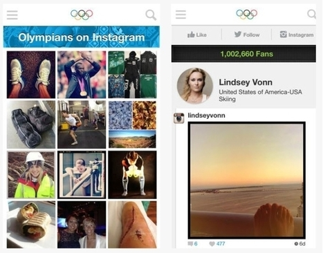 How To Follow The 2014 Winter Olympic Games From Sochi On Facebook, Twitter, Instagram - AllFacebook | Social Media Useful Info | Scoop.it