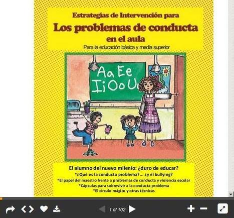 Los problemas de conducta en el aula: estrategias de intervención | Recull diari | Scoop.it