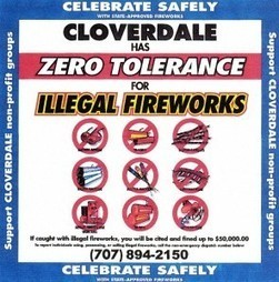 Zero tolerance for illegal fireworks in Cloverdale | Cloverdale California Lifestyle | Scoop.it