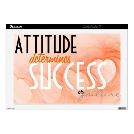 Attitude...Success Orange Heart Background Skins For Laptops | Z Artwork | Scoop.it