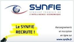 Le SYNFIE : Syndicat Français de l'Intelligence Économique Recrute | Intelligence stratégique et économique | Scoop.it
