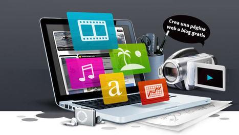 16 plataformas para crear una página web o un blog gratis | TIC Educativa | Scoop.it
