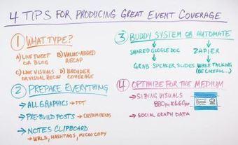 4 Tips for Producing Great Event Coverage - NSays.in   Mundos Virtuales, Educacion Conectada y Aprendizaje de Lenguas   Scoop.it