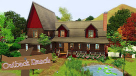 Latest Sims 3 News: New Sims 3 House Released - Outback Ranch! | *Igrice* | Scoop.it