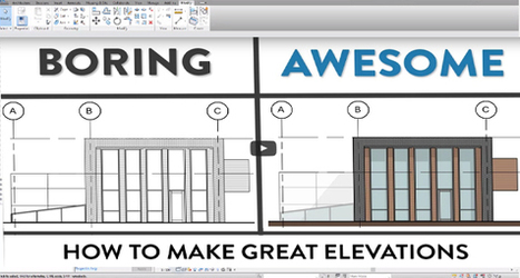 How to make perfect elevations with Revit | BIM Forum | Scoop.it