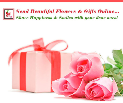 Send beautiful flowers and gifts online share #happiness and smiles with your dear ones! | BlossomSquare online flowers delivery system | Scoop.it