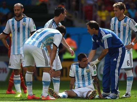 FIFA World Cup 2014: Argentina's Angel Di Maria Ruled Out of Semifinals - NDTV | FIFA World Cup 2014 | Scoop.it