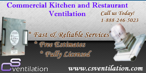 Commercial kitchen ventilation products | CS Ventilation Boston Hood Cleaning | Scoop.it
