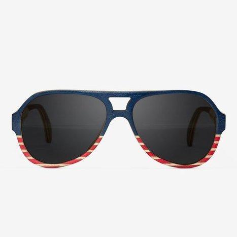 The Liberties Maritime Wooden Sunglasses | spring | Scoop.it