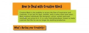 How Can We Deal With the Creative Block (Infographic) - Make your ideas Art | Building Momentum & Productive flow | Scoop.it
