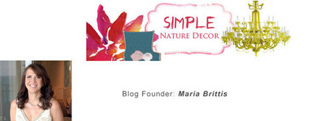 Featured Natural Décor Blog - Simple Nature Décor | Green & Eco-Friendly | Scoop.it