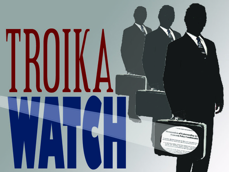 TroikaWatch: now citizens watch the Troika | International Communication 15M Indignados Occupy | Scoop.it