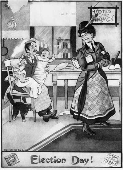 Anti-Suffrage Propaganda | CLIL-DNL History | Scoop.it