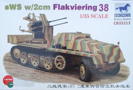 sWS w/2cm Flakvierling 38 in 1/35... - Kits | Francois' Scale Modeling Gazette | Scoop.it