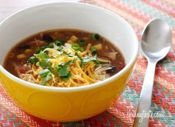 Chicken Enchilada Soup | Cooking | Scoop.it