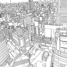 Fantastic Cities: the most intricate all-ages colouring book yet | Biologiaa ja maantietoa | Scoop.it