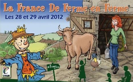 De Ferme en Ferme … en Rhône-Alpes avec l'épouvantail comme mascotte ! | oenologie en pays viennois | Scoop.it