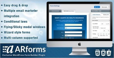 ARForms Exclusive WordPress Form Builder Plugin v2.0.3 | Download Full Nulled Scripts | Download Free Nulled WP Themes & Plugins | Scoop.it