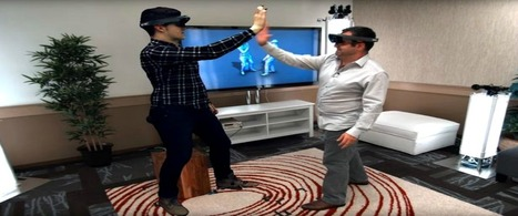 Microsoft Holographic Software Forges A New Path In Technology | Technology in Business Today | Scoop.it