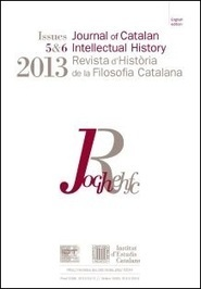 «Revista d'Història de la Filosofia Catalana»: Nous números | Blog ... | Filosofia | Scoop.it