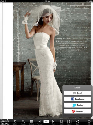 Here Comes the Social Networking Bride | Newspapers and Social Media | Scoop.it