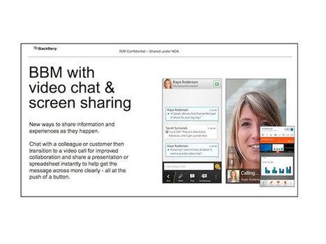 BBM Video : un concurrent à Skype sur BlackBerry 10 | Quoi de news sur les réseaux sociaux ? | Scoop.it