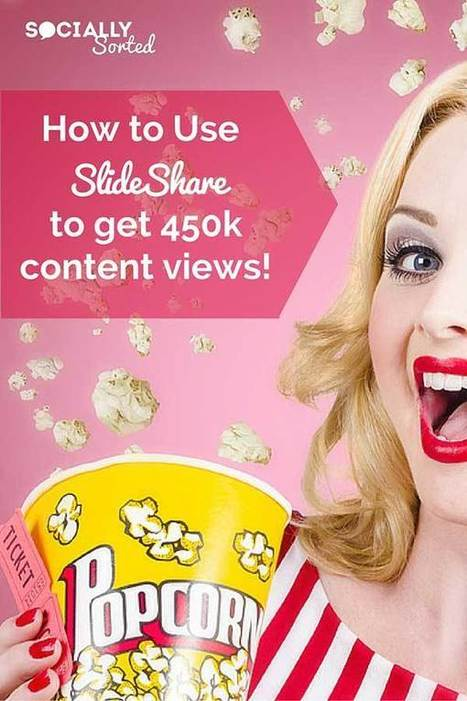 How to Use SlideShare to Attract 450k Views of Your Content | Social Media & sociaal-cultureel werk | Scoop.it