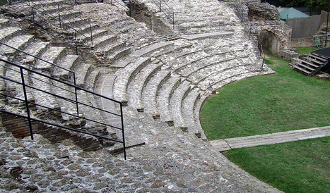 The ancient Roman Theatre of Falerone | Le Marche another Italy | Scoop.it