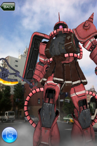 Gundam's Augmented-Reality iPhone/iPad App Game Released | Augmented Reality News and Trends | Scoop.it
