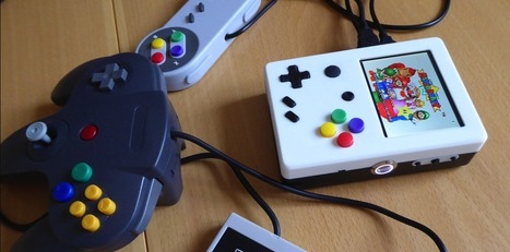 Portable Raspberry Pi Game System Printed With Ultimaker 2 - | Raspberry Pi | Scoop.it