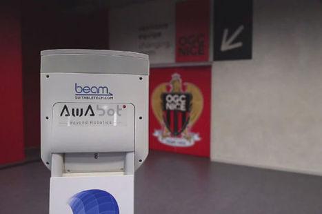 Un robot pour découvrir en temps réel les coulisses du stade de Nice   Robolution Capital   Scoop.it