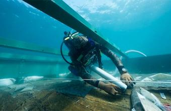 Todo el mundo sabía que estaba allí, pero nadie se había dado cuenta de lo que era....¡Un pecio de 3200 años!.   Arqueología submarina y subacuática, Navegación histórica,  Ciencias y Técnicas Auxiliares y afines. Investigando en Arqueología  Submarina.   Scoop.it