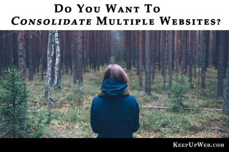 Do You Want to Consolidate Multiple Websites? | Inbound Marketing And Social Media | Scoop.it