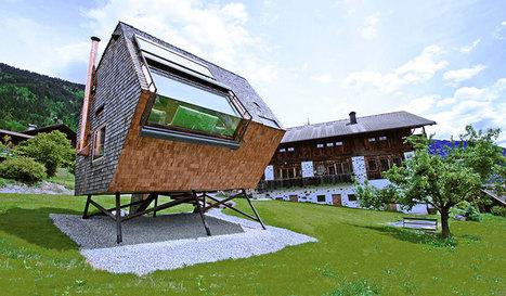 urlaubs architektur designs the UFOgel in austria   Architecture   Scoop.it