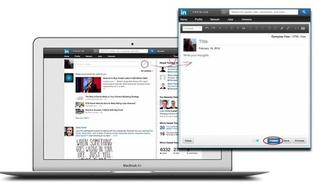 LinkedIn Opens Its Publishing Platform To All Members | TechCrunch | Social Media and Marketing | Scoop.it