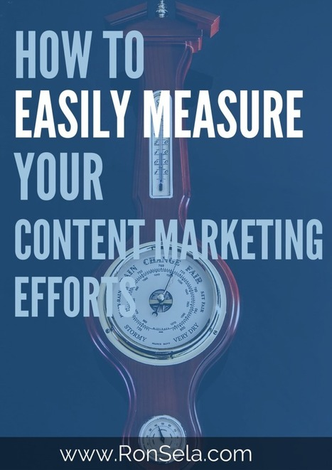 How to Easily Measure Your Content Marketing Efforts | Technology and Marketing | Scoop.it