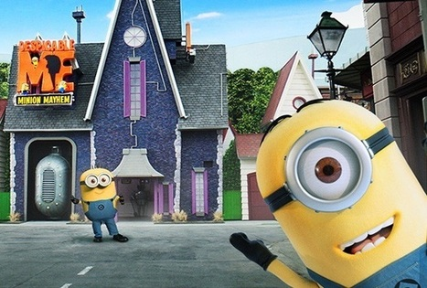 Minions invade Universal Studios Hollywood themepark | The Pearl ... | Despicable Me | Scoop.it
