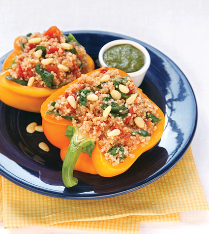 Quinoa-Stuffed Capsicums - Recipes | Try or die | Scoop.it