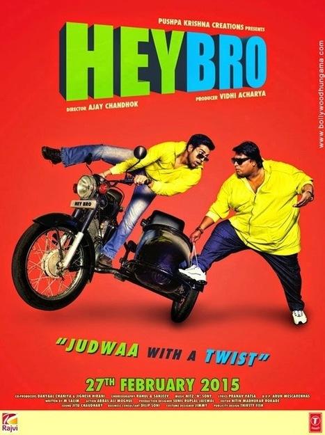 Hey Bro (2015) Hindi DVDScr 350MB   Download Movies - 300mb Movies, 720p Mkv   BTNT - bloggingtipsntrickz.com   Scoop.it