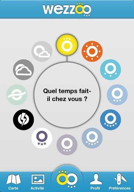 L'application Wezzoo disponible sur android - Android Culte | Weather By You | Scoop.it