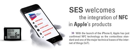 SES welcomes the adoption of the NFC standard by Apple | Store Electronic Systems News | Scoop.it