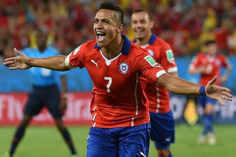 Arsenal and Manchester United 'battle it out to sign Barcelona forward Alexis ... - Mirror.co.uk   Premier League   Scoop.it