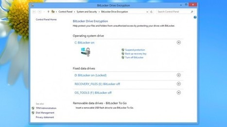 Use Windows Server 2012 To Automatically Connect BitLocker-Encrypted ... - Lifehacker Australia | Web Site & Domain Services | Scoop.it